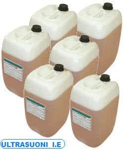 lavaggio ultrasuoni con detergente biodegradabile